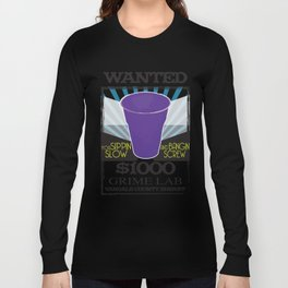 Wanted Purple Cup Long Sleeve T-shirt