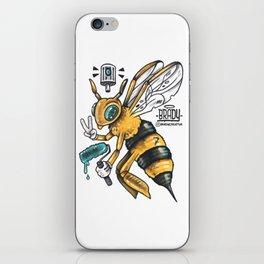 Peace BEE iPhone Skin