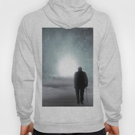 Old Man Walking Towards Heaven Hoody