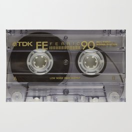 Vintage Audio cassete Rug