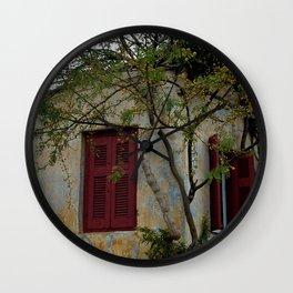Greek Cottage Wall Clock