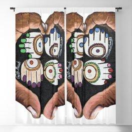 K'AL: Raise up: Black and Indigenous Lives by Musah Swallah & Frida Larios Blackout Curtain