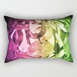 Lights and crystals - New age media Rectangular Pillow
