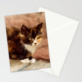 Calico Kitten Stationery Cards