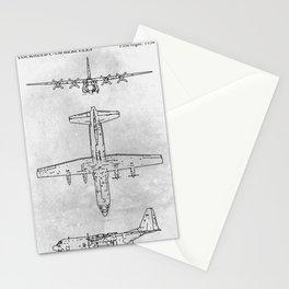 LOCKHEED C-130 HERCULES Stationery Cards