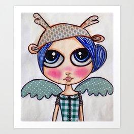 angeles Art Print