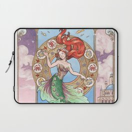 Every Girl Is A Princes 01: Andersen's The Little Mermaid Laptop Sleeve