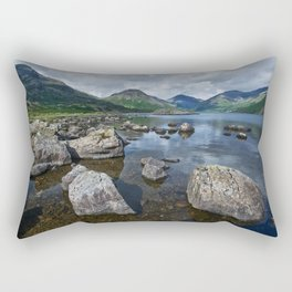 Wastwater English Lake District Rectangular Pillow