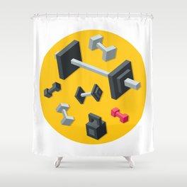 Sport equipment Shower Curtain