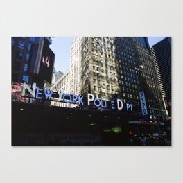 NYPD Canvas Print