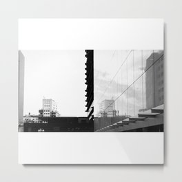 Simetría imperfecta Metal Print