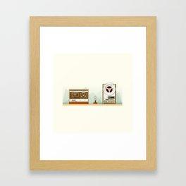 Old Record Framed Art Print