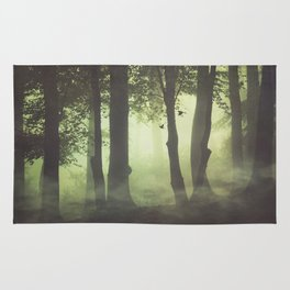 Wispy Forest Mists Rug