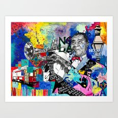 The Sound of New Orleans Art Print