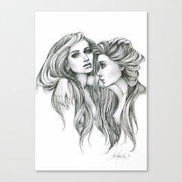 Gemini Mind Canvas Print