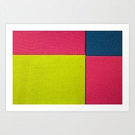 Color Square Art Print