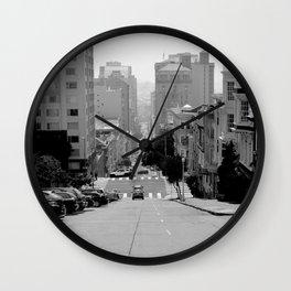 San Francisco Hills Wall Clock
