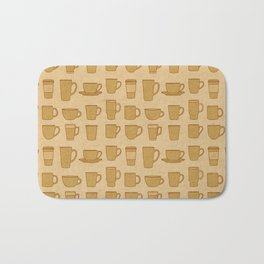 Coffee stained Bath Mat