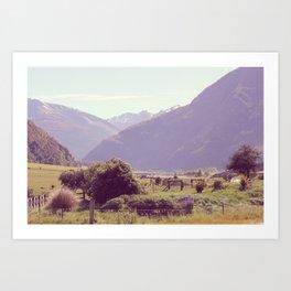 New Zealand 2 Art Print