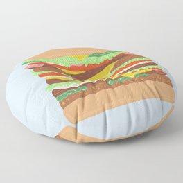 BURGER Floor Pillow