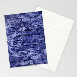 Seamless Background Brick Wall Stationery Cards