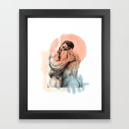 The Lovers - NOODDOOD Remix Framed Art Print