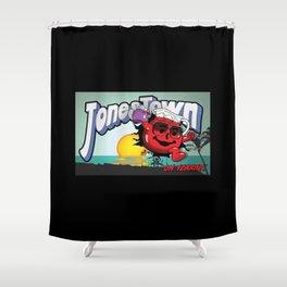 Jonestown, Oh Yeah! Shower Curtain