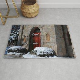Portiuncula Chapel Doors Rug