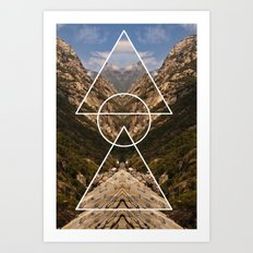 Hidden meaning Art Print