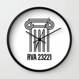 RVA 23221 Wall Clock