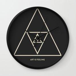 ReyStudios Monochromatic 4 Wall Clock