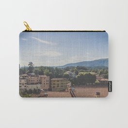 Mountain view of a small town in Veneto,  Vicenza, Italy / Landscape print Carry-All Pouch