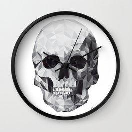 Geometric Skull Wall Clock