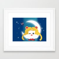 sailormoon Framed Art Prints featuring SailorMoon MeyMey by Raimondo Tafuri