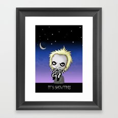 It's Showtime! Framed Art Print