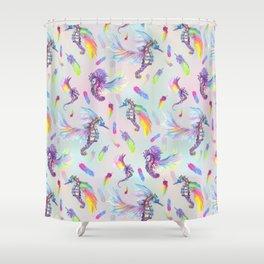 Ocean Pegasus Shower Curtain