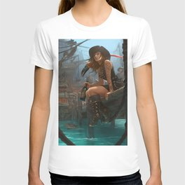 Pirate Haven Tortuga T-shirt
