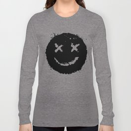 Confused Smile Long Sleeve T-shirt
