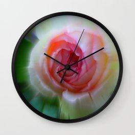 little rosebud Wall Clock
