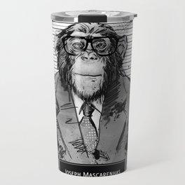 Monkey Mugshot Travel Mug