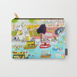 CYCLE CITY canal scene Carry-All Pouch