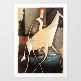 don quixote... Art Print