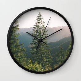 Forest XV Wall Clock