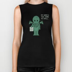 Monster Issues - Cthulhu Biker Tank