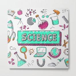 science Metal Print
