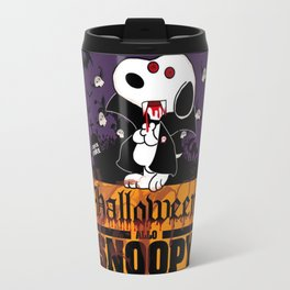 halloween snoopy Travel Mug
