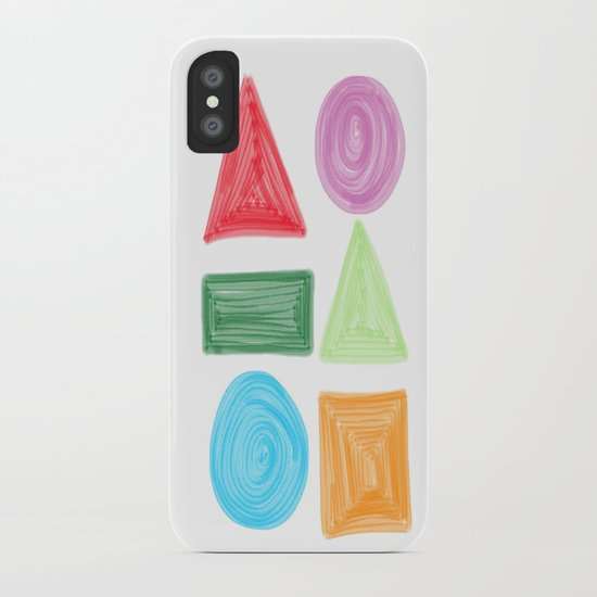 shapes iPhone Case