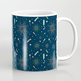Fireworks Coffee Mug