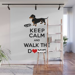 Walk the Doxie Wall Mural