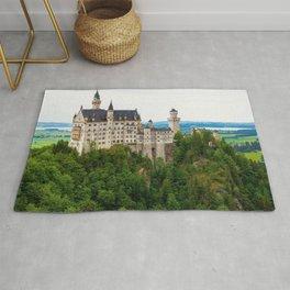 Amazing Fairytale Neuschwanstein Castle Schwangau Bavaria Germany Europe Ultra HD Rug